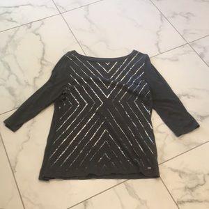 Tommy Hilfiger Metallic Lines Shirt